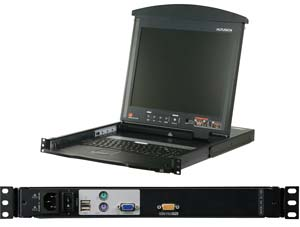 kl1100-LCD-KVM-Switches-aten   کنسول مانتیور kl1100