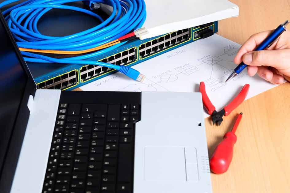 خدمات شبکه ، نصب و راه اندازی شبکه